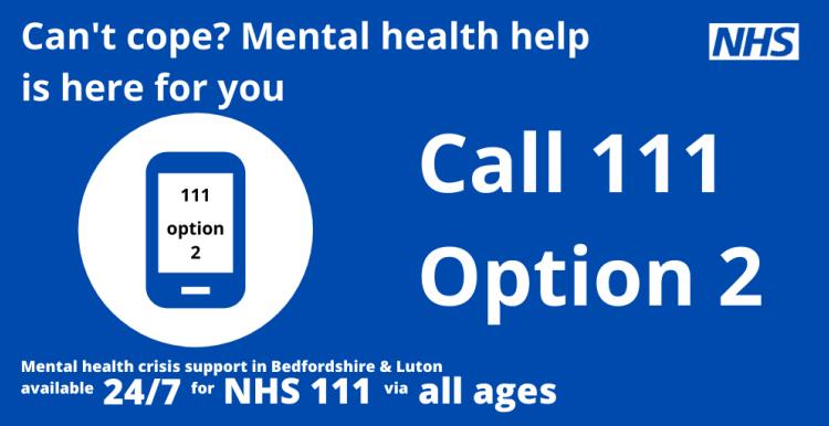 NHS 111 24hr Mental Health Crisis Support | Healthwatch ...